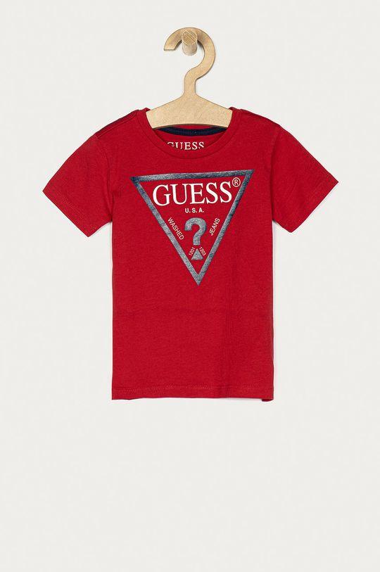 červená Guess Jeans - Dětské tričko 92-116 cm Chlapecký
