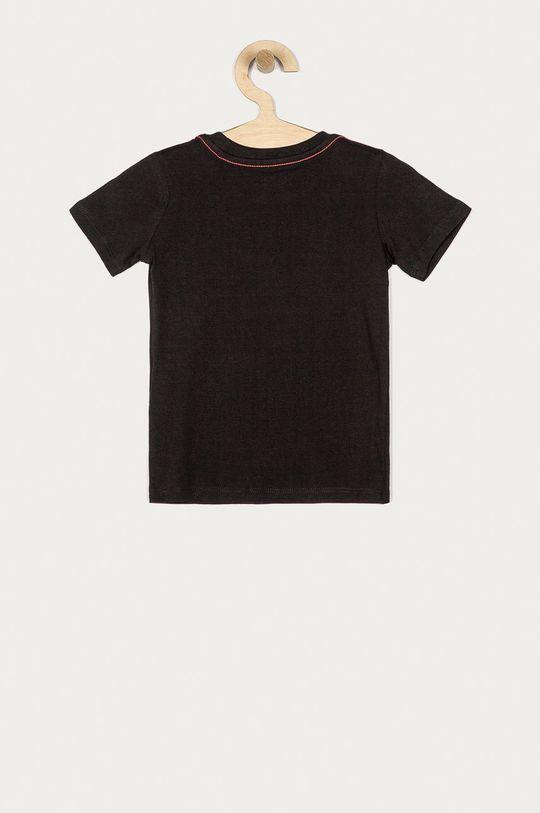 Guess Jeans - T-shirt dziecięcy 92-116 cm czarny