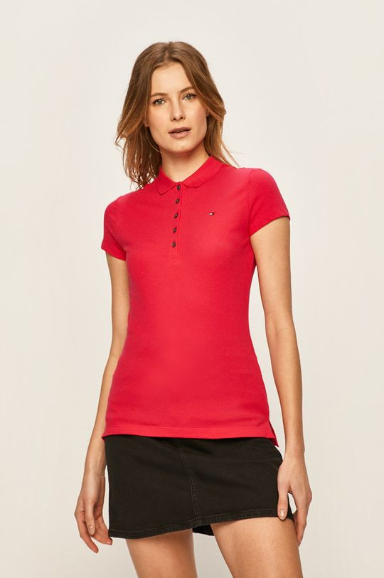 roz Tommy Hilfiger - Tricou Polo De femei