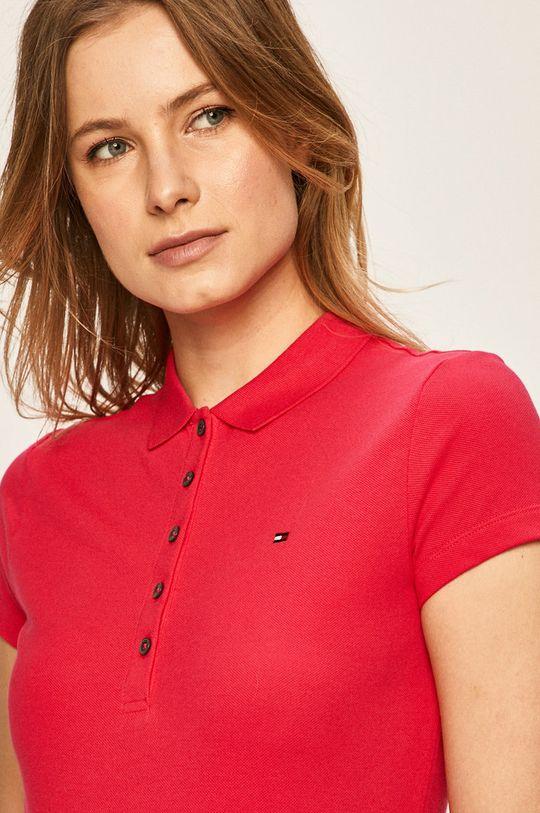 roz Tommy Hilfiger - Tricou Polo