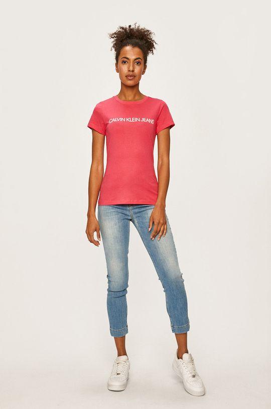 Calvin Klein Jeans - Tričko růžová