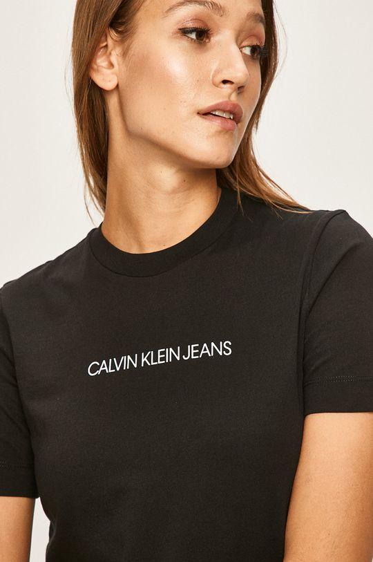 negru Calvin Klein Jeans - Tricou
