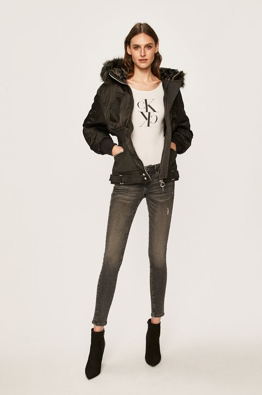 Calvin Klein Jeans - Longsleeve alb