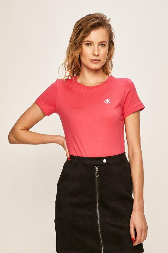 roz Calvin Klein Jeans - Tricou De femei