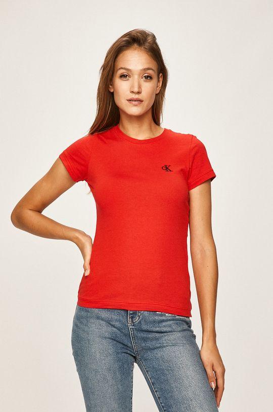 rosu Calvin Klein Jeans - Tricou De femei