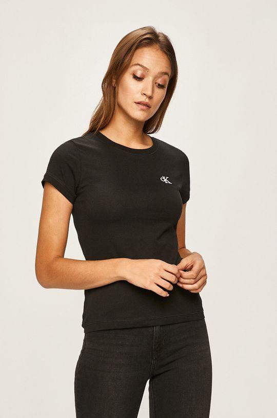 negru Calvin Klein Jeans - Tricou De femei