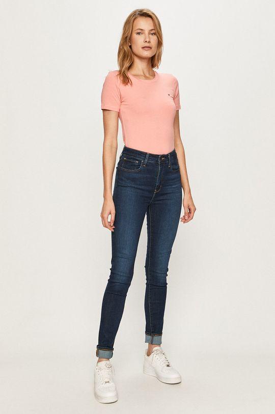 Tommy Hilfiger - T-shirt różowy