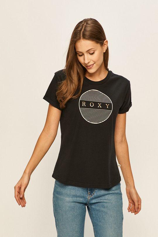 czarny Roxy - T-shirt Damski