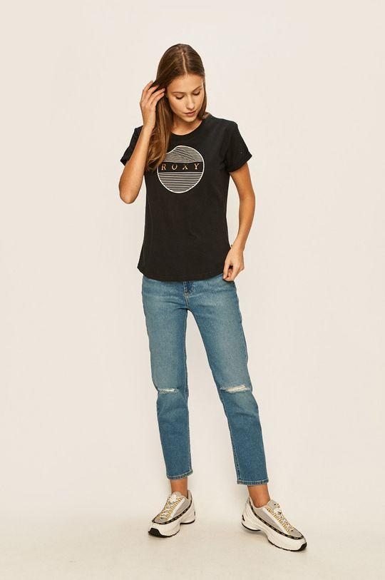 Roxy - T-shirt czarny