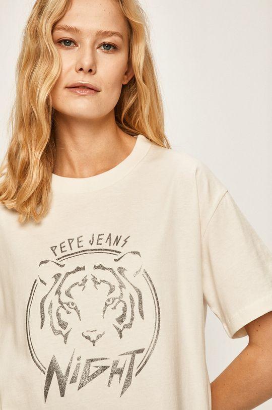 bílá Pepe Jeans - Tričko Charlotte