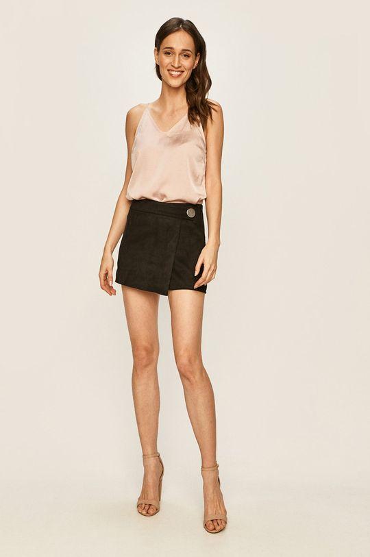 Vero Moda - Bluzka pastelowy różowy