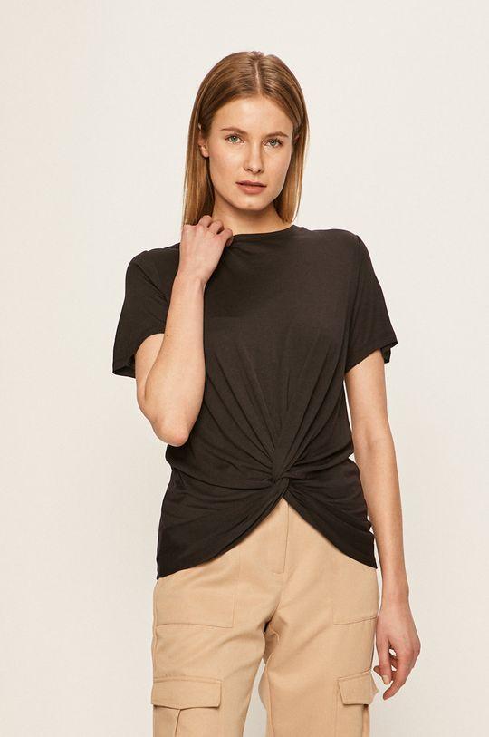 czarny Vero Moda - T-shirt Damski