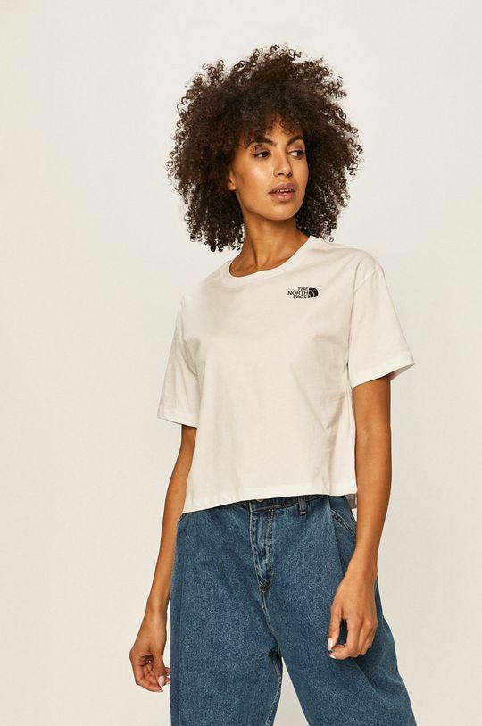 biały The North Face - T-shirt Damski