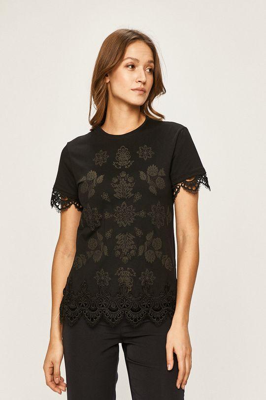 negru Desigual - Tricou De femei