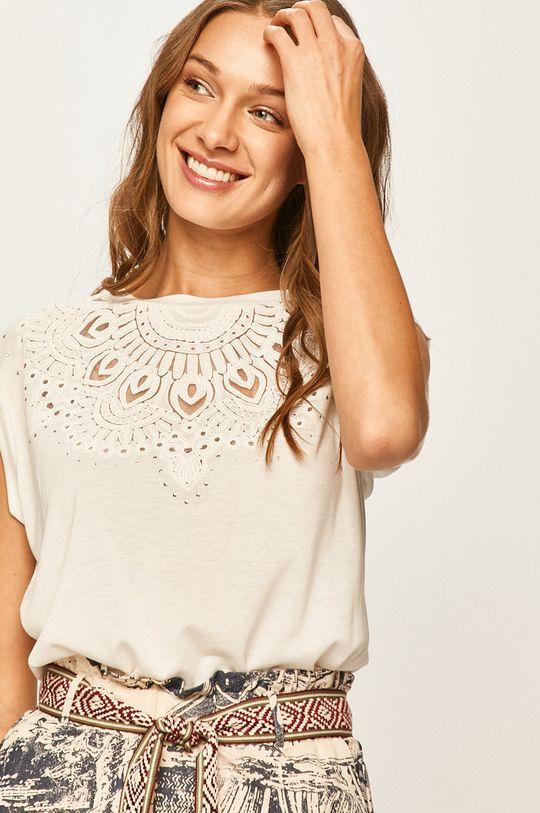 biela Desigual - Tričko
