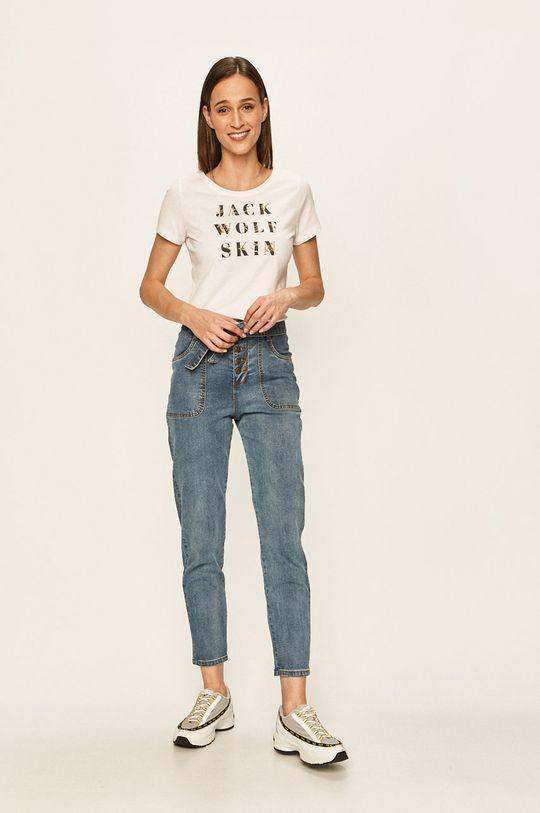 Jack Wolfskin - T-shirt biały