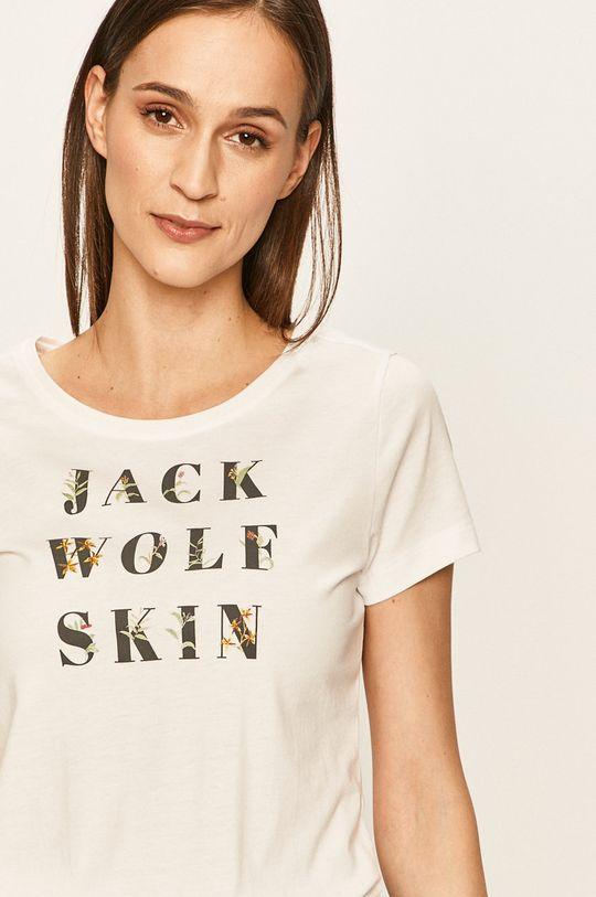 biały Jack Wolfskin - T-shirt