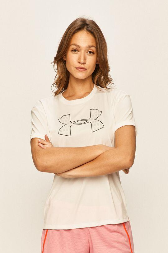 biały Under Armour - T-shirt Damski