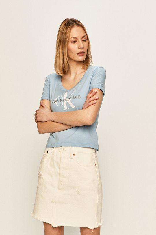 svetlomodrá Calvin Klein Jeans - Blúzka Dámsky