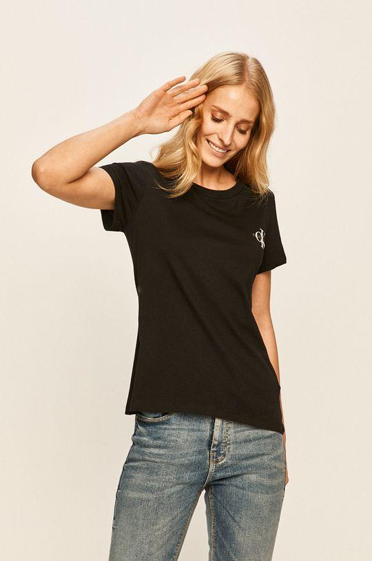 černá Calvin Klein Jeans - Tričko (2-pack) Dámský