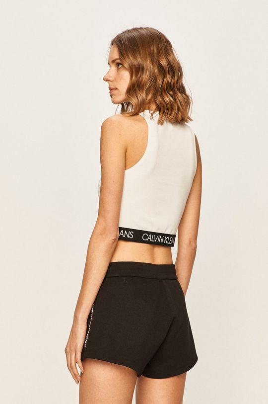 Calvin Klein Jeans - Top 77% Polyester, 19% Viskóza, 4% Elastan