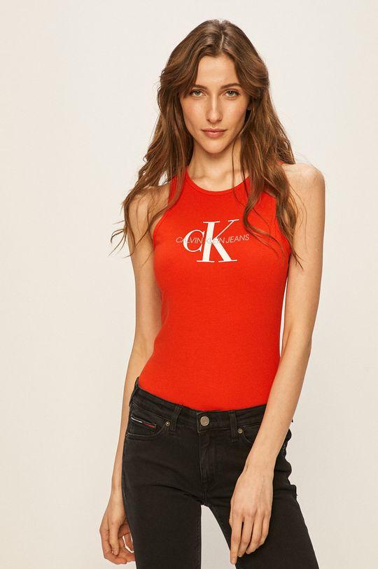 červená Calvin Klein Jeans - Top Dámský