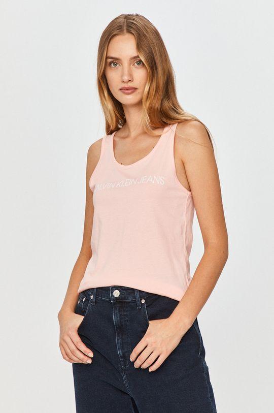 roz pastelat Calvin Klein Jeans - Top De femei