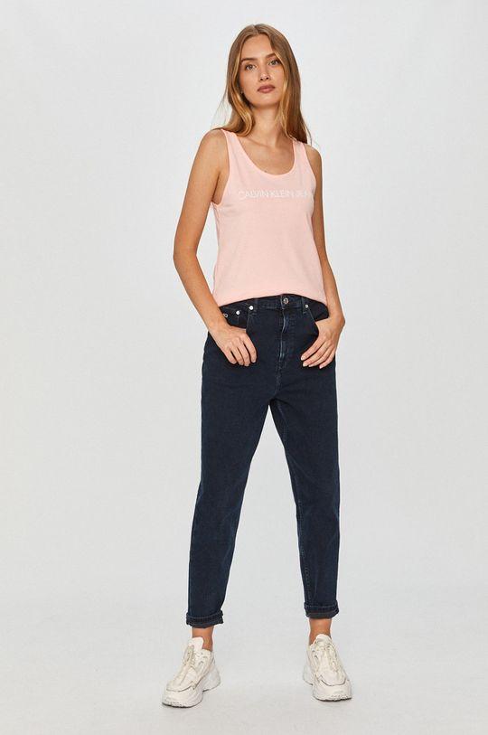 Calvin Klein Jeans - Top roz pastelat
