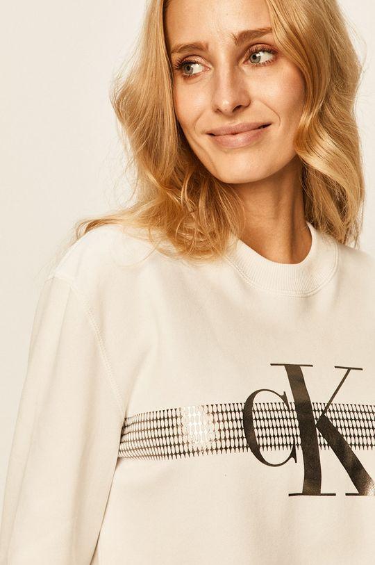 alb Calvin Klein Jeans - Bluza