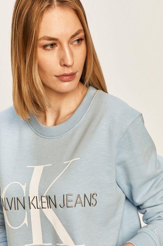 svetlomodrá Calvin Klein Jeans - Mikina