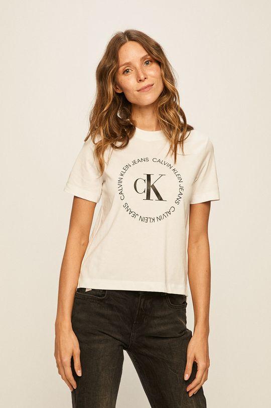 alb Calvin Klein Jeans - Tricou De femei