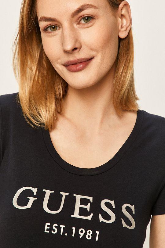 bleumarin Guess Jeans - Tricou