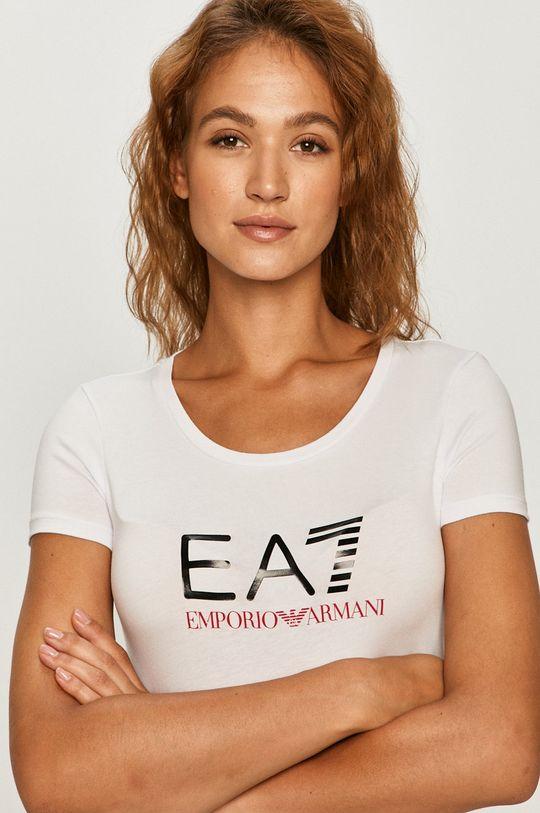 bílá EA7 Emporio Armani - Tričko Dámský