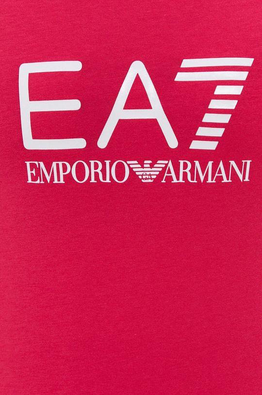 ostrá růžová EA7 Emporio Armani - Tričko