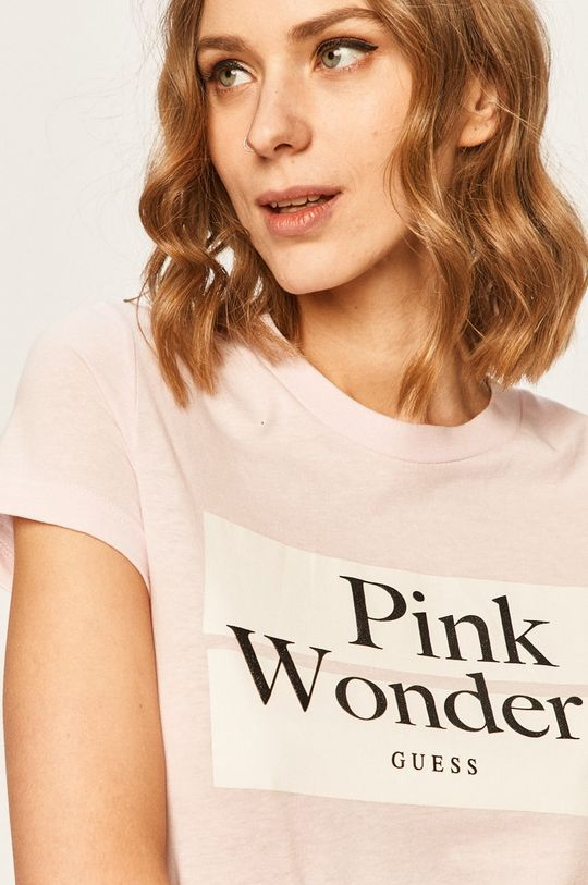 ružová Guess Jeans - Tričko
