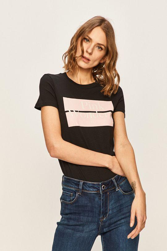 čierna Guess Jeans - Tričko Dámsky