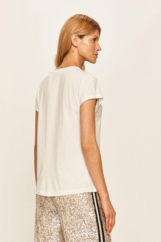 Guess Jeans - T-shirt 60 % Bawełna, 40 % Modal