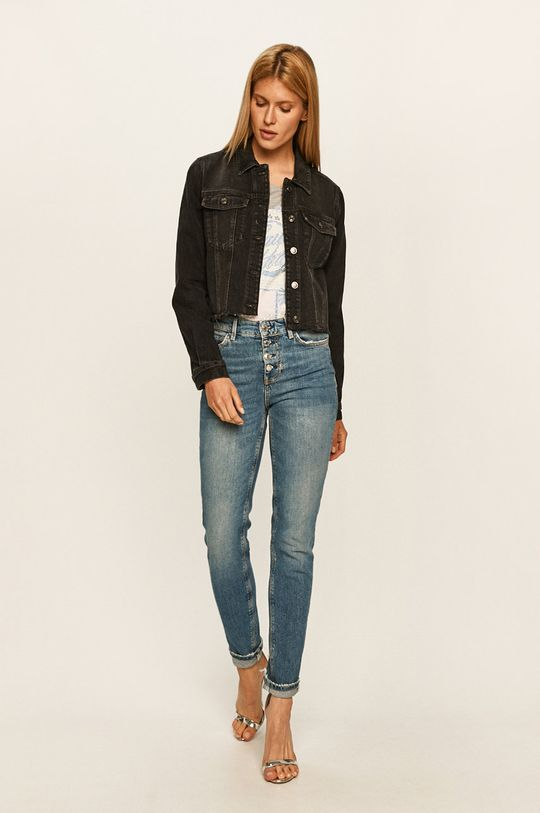 Guess Jeans - T-shirt szary