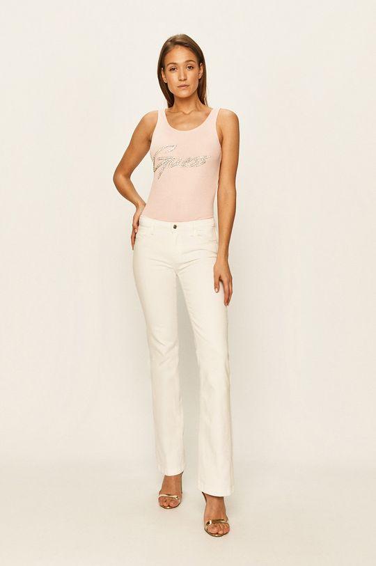 Guess Jeans - Top różowy