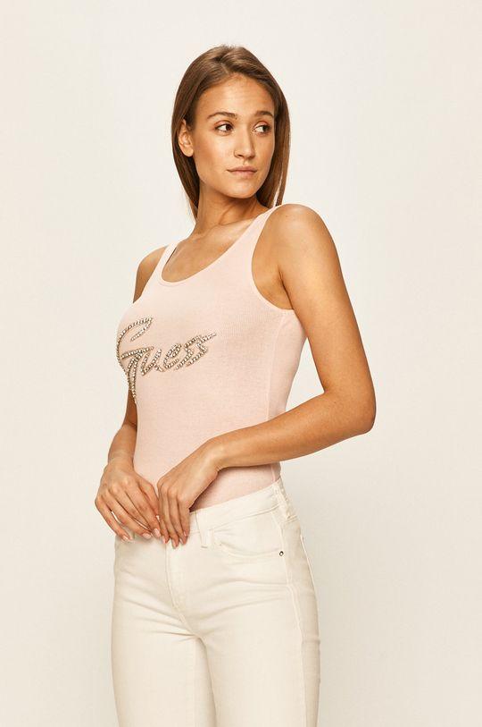 różowy Guess Jeans - Top