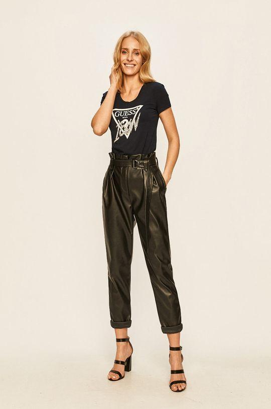 Guess Jeans - Tricou bleumarin