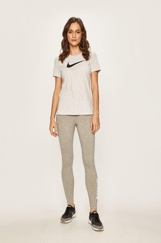 Nike - Tričko světle šedá