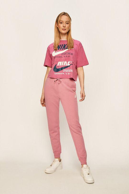 Nike Sportswear - Tričko fuchsiová