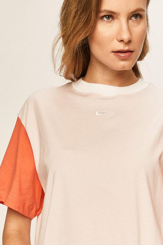 pastelově růžová Nike Sportswear - Tričko