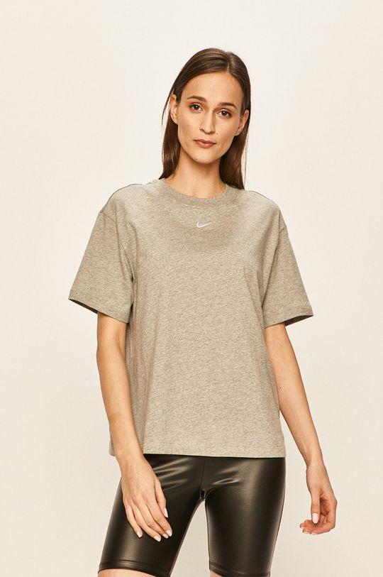 jasny szary Nike Sportswear - T-shirt Damski