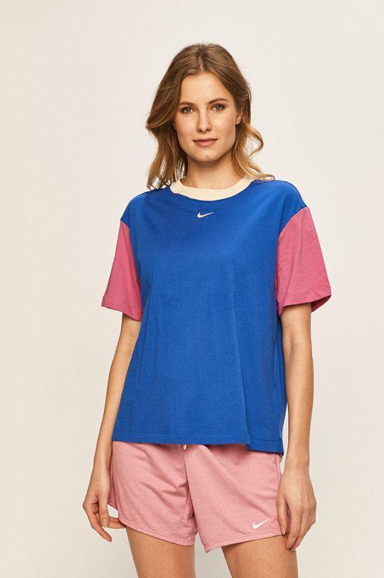 modrá Nike Sportswear - Tričko Dámský