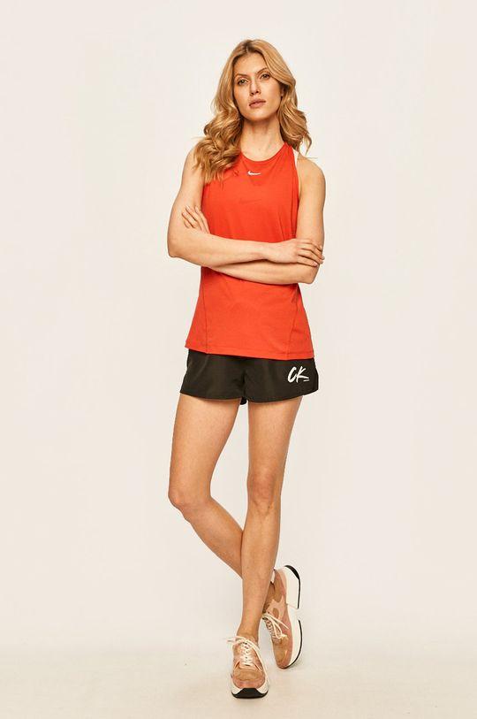 Nike - Top ostrá červená