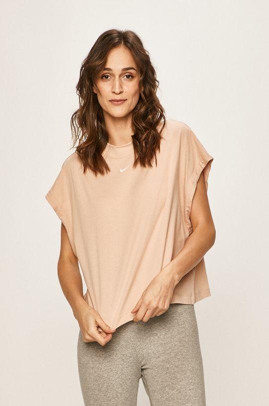pastelově růžová Nike Sportswear - Tričko Dámský