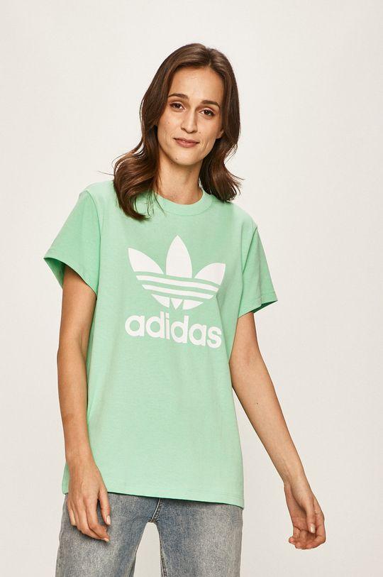 mátová adidas Originals - Tričko Dámský