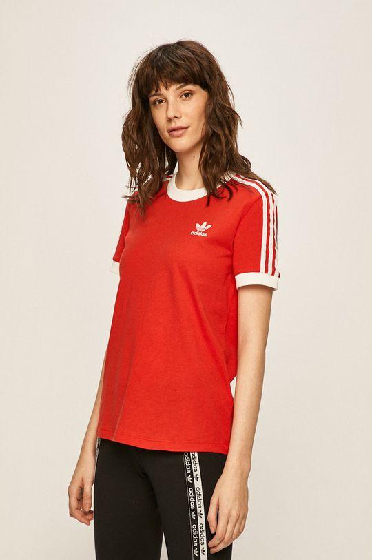 červená adidas Originals - Tričko Dámský